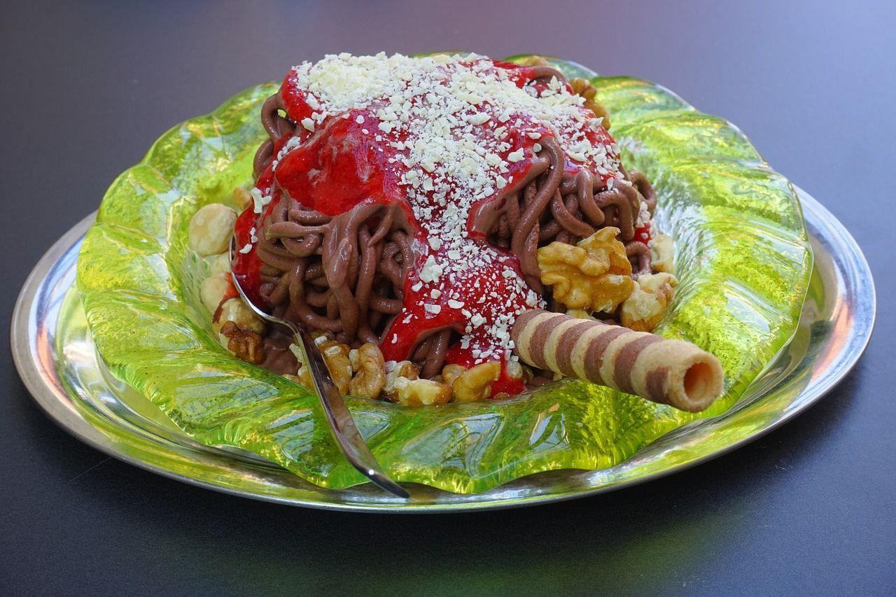 Spaghetti-Eis-Presse-bei-Ikea